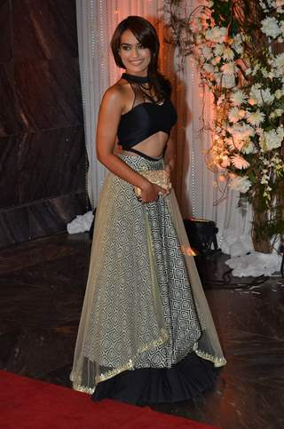 Surbhi Jyoti at Karan - Bipasha's Star Studded Wedding Reception