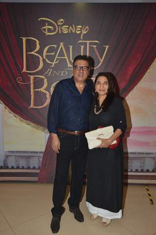 Boman Irani at Special Screening of 'Beauty and the Beast'