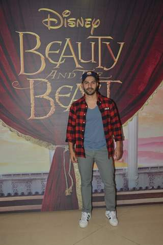Varun Dhawan at Special Screening of 'Beauty and the Beast'