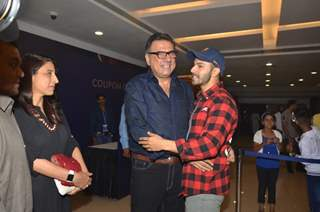 Boman Irani and Varun Dhawan at Special Screening of 'Beauty and the Beast'