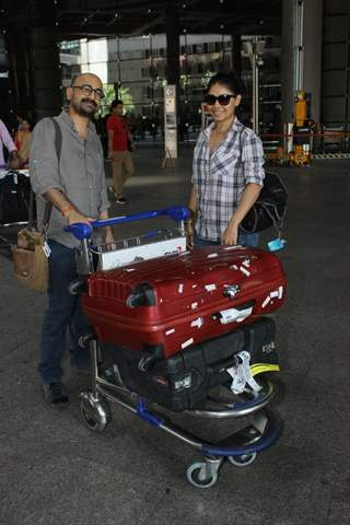 Spotted at Airport: Sunidhi Chauhan!