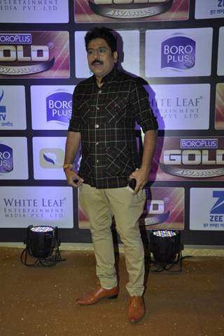 Sailesh Lodha at Zee Gold Awards 2016