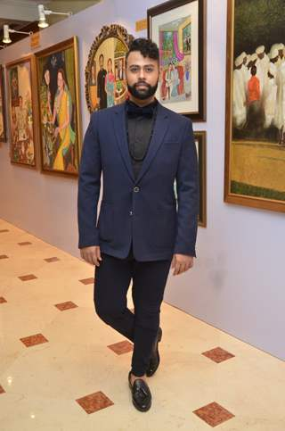 VJ Andy at Nargis Dutt Foundation's Art Event