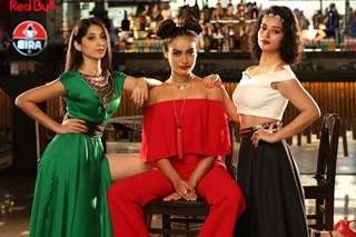 Vrushika Mehta, Surbhi Jyoti and Sukirti Kandpal at Desi Explorers Photo Shoot