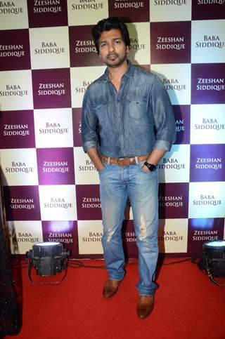 Nikhil Dwivedi at Baba Siddique's Iftaar Party 2016