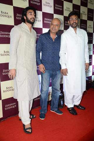 Javed Jaffrey and Naved Jaffrey at Baba Siddique's Iftaar Party 2016