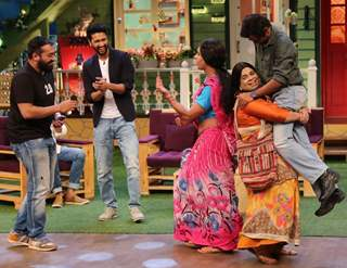 Anurag Kashyap, Nawazuddin Siddiqui Promote 'Raman Raghav 2.0' on the sets of 'The Kapil Sharma Show