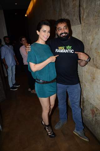 Anurag Kashyap and Kangana Ranaut attends Special Screening of 'Raman Raghav 2.0'
