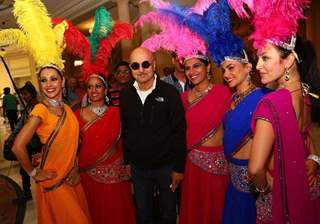 Celebs Arrive at 'IIFA Awards' in Madrid: Anupam Kher