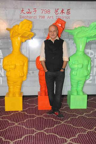 Anupam Kher at Krishika Lulla's Party for The New Asian Restaurant DASHANZI