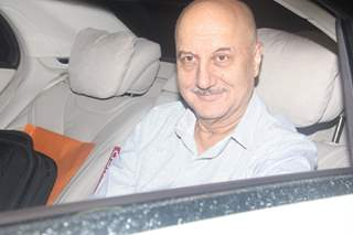 Anupam Kher at Special Screening of 'SULTAN'