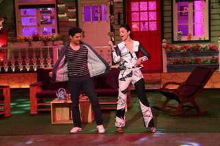 Gauahar Khan and Rajeev Khandelwal Promotes the film 'Fever' on the sets of The Kapil Sharma Show