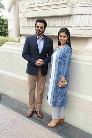 Anil Kapoor and Sakshi Tanwar at Promotions of '24 Season 2' Show