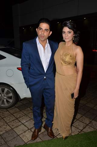 Pooja Gor and Raj Singh Arora at Divyanka Tripathi - Vivek Dahiya's Wedding Reception