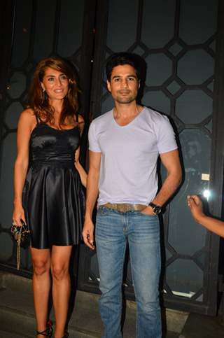 Rajeev Khandelwal and Caterina Murino at 'Fever' Bash!