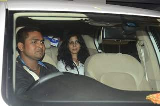 Saakshi Tanwar attends Party at Aamir Khan's residence