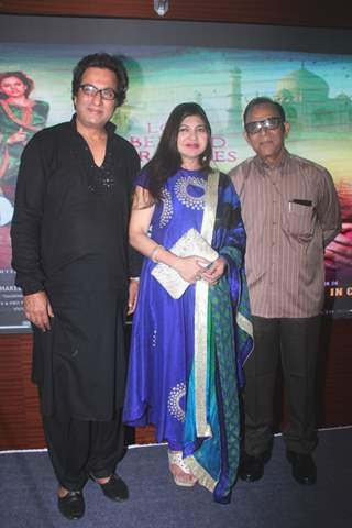 Alka Yagnik and Talat Aziz at Music launch of film Majaz Ae Gham-E- Dil Kya Karun