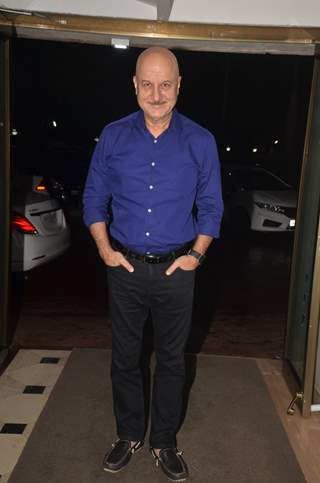 Anupam Kher at The Vamps Bash