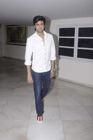 Manish Paul at Prayer meet of Krushna Abhishek's father!