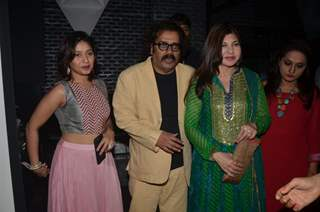 Sunidhi Chauhan, Hariharan and Alka Yagnik at Singer Richa Sharma's Birthday Bash