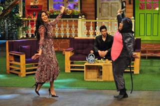 Sidharth Malhotra and Katrina Kaif at Promotion of 'Bar Bar Dekho' on sets of The Kapil Sharma Show