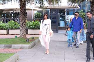 Vivek Oberoi's Family Lunch on his Birthday