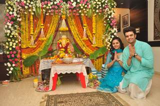 Manish Paul celebrates Ganesh Chaturthi!