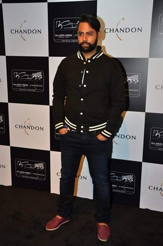 VJ Andy at UNVEILING OF CHANDON X MC LAREN-HONDA