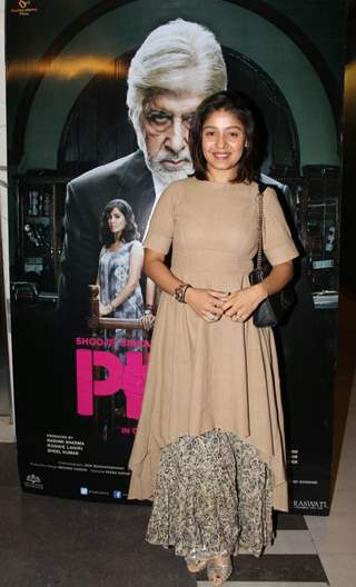 Sunidhi Chauhan at Special screening of Film 'Pink'