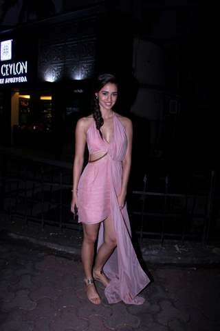 Disha Patani snapped outside her apartment