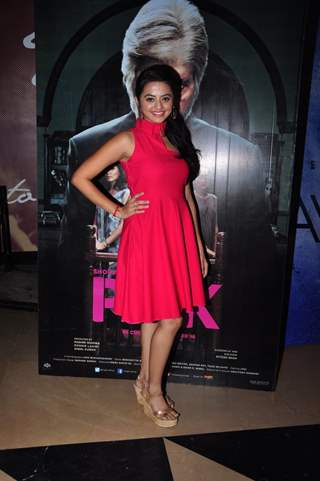 Helly Shah at Special screening of Film 'Pink'