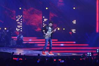 Manish Paul at Music launch of movie Rock On 2