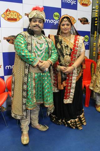 Kiku Sharda and Pragati Mehra's Akbar Birbal Completes 500 Episodes