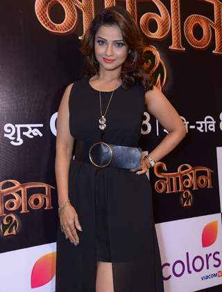 Adaa Khan at Launch of Color TV's new show 'Naagin' Season 2