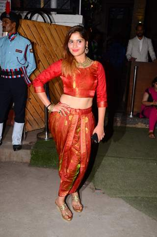 Aarti Singh at Kishwer Merchant and Suyyash Rai's Sangeet Ceremony