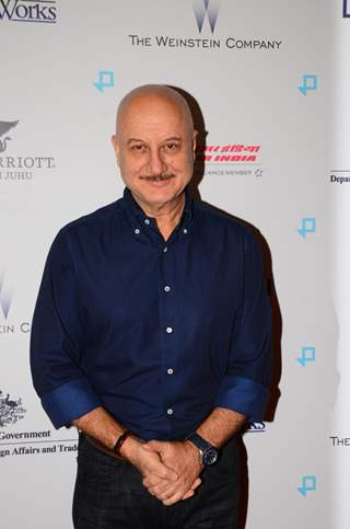 Anupam Kher attends premiere of 'Lion'