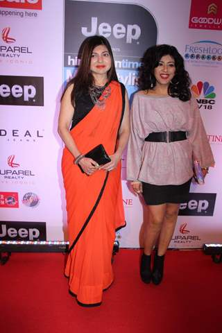 Alka Yagnik attends 'HT STYLE AWARDS 2017'