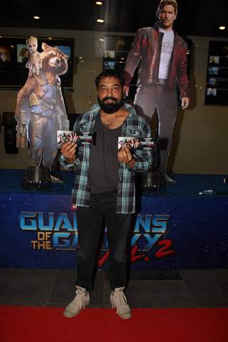 Anurag Kashyap at Special Premiere of 'Guardians of the Galaxy Vol. 2'