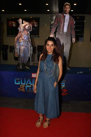 Shruti Seth at Special Premiere of 'Guardians of the Galaxy Vol. 2'