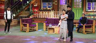 Arjun Kapoor on sets of the 'The Kapil Sharma Show'