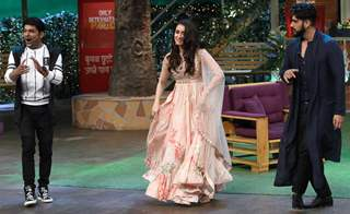 Arjun Kapoor and Shraddha Kapoor on 'The Kapil Sharma Show'