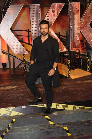 Rithvik Dhanjani at the launch of Khatron Ke Khiladi: Pain in Spain