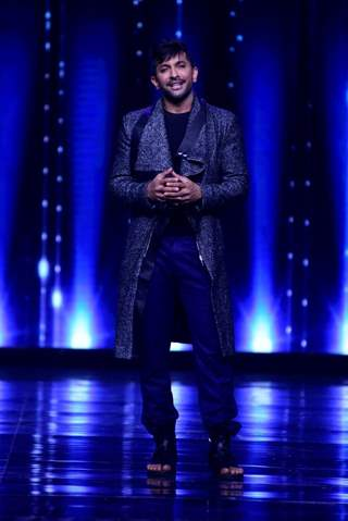 Terence Lewis on the sets of Nach Baliye 8