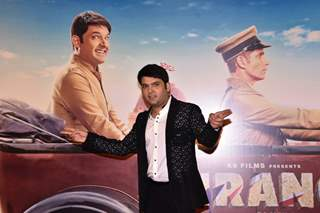 Kapil Sharma at the trailer launch of FIRANGI