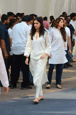 Chunkey Pandey's daughter Ananya Pandey at the Venue