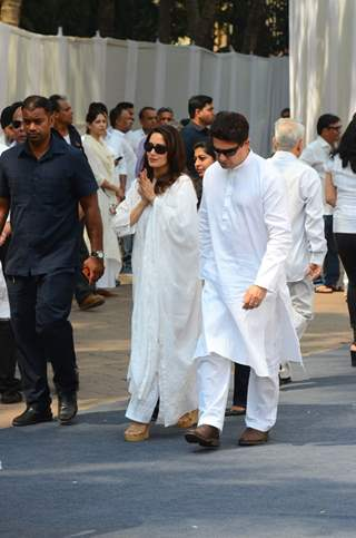 Madhuri Dixit and her husband