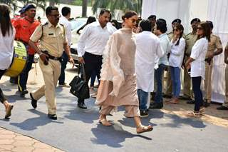Deepika Padukone Arrives