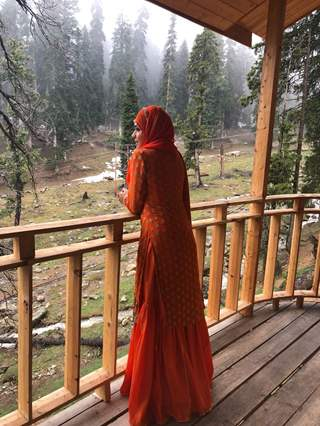 Eisha Singh as Zara from Ishq Subhan Allah