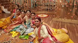 All Ladies at Manasi Mehndi from Yeh Rishta Kya Kehlata Hai