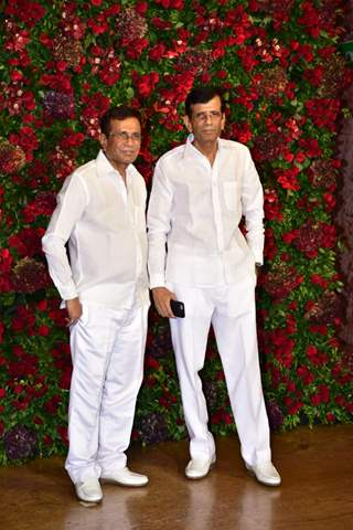 Abbas-Mustan at Ranveer-Deepika's Mumbai reception
